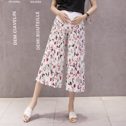 Maternity Clothing Pants Stomach Lift Pregnancy Casual Loose  Summer Outwear