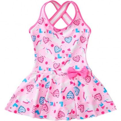 Baby Clothing Swimwear Children's One Piece Cute Dress Beach Wear