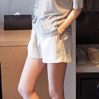 Maternity Clothing Low Waist Short Loose Leggings