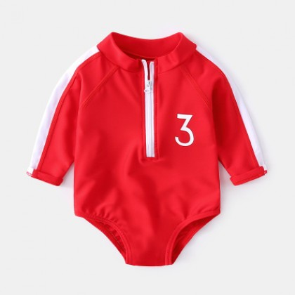 Baby Clothing Swimwear Sunscreen One-piece Swimsuit