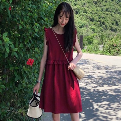 Maternity Clothing Foreign Style Fashion Dress