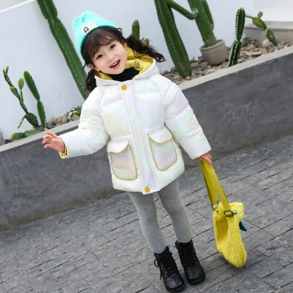 Baby Clothing Bright Cotton Winter Jacket