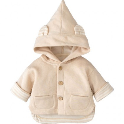 Baby Clothing Cotton Small Cute Hooded Jacket