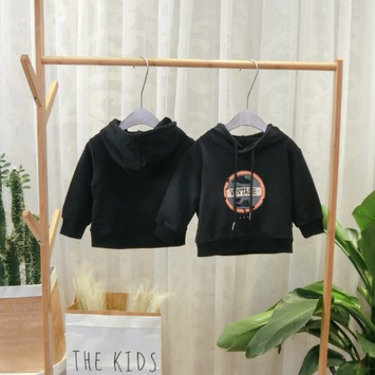 Kids Clothing Foreign Style Hooded Jacket