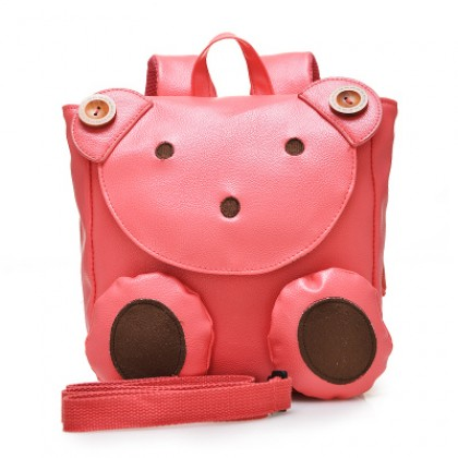 Kids Fashion Kindergarten Cute Bear Backpack