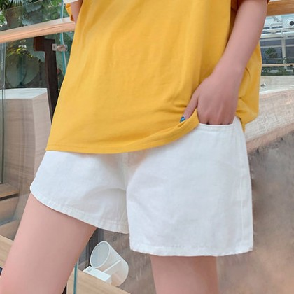 Maternity Clothing Loose Casual Outfit Fashionable Pants Shorts