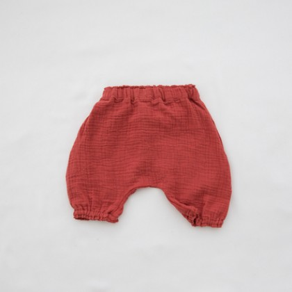 Baby Clothing Cotton and Linen Bread Pants