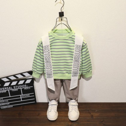 Kids Clothing Boy Two-piece Casual Suit