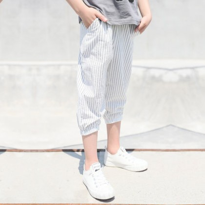 Kids Clothing Boy Summer Casual Striped Pants
