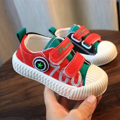 Kids Kindergarten Student Canvas Biscuit Shoes