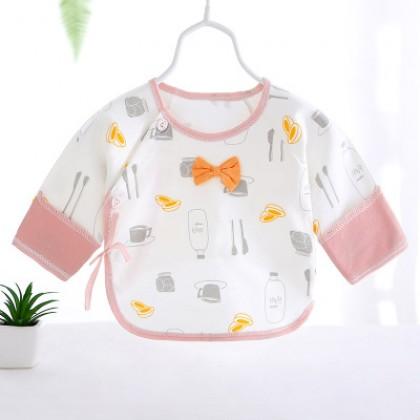 Baby Clothing Newborn Cotton Half-back Top