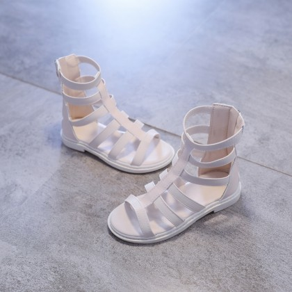 Kids Breathable Casual Roman Princess Style Sandals