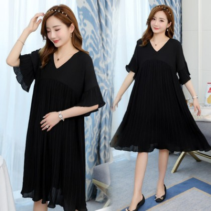Maternity Clothing Chiffon Skirt Pregnant Dress