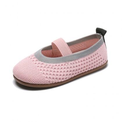 Kids Breathable Kindergarten Indoor Knitted Shoes
