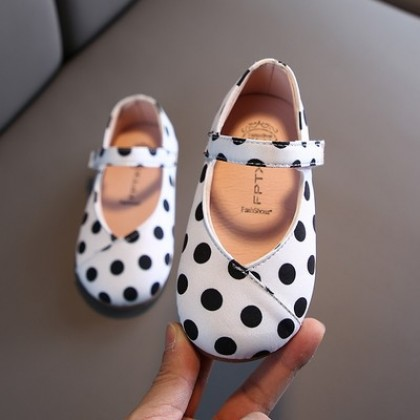 Kids Soft-soled Princess Leather Girls Shoes