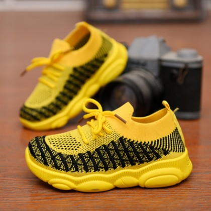 Kids All-match Breathable Korean Style Mesh Shoes