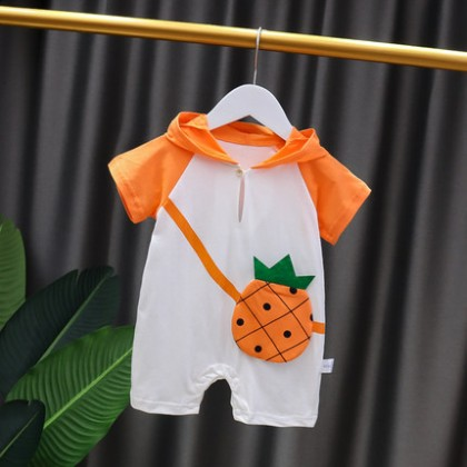 Baby Clothing One-piece Short Sleeve Romper Suit