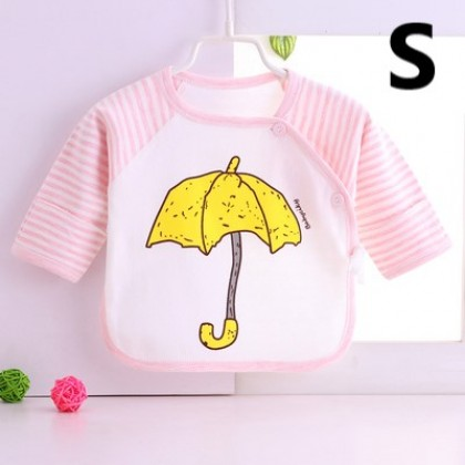 Baby Clothing Newborn Half back Long-sleeved Tops