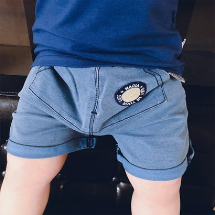Baby Clothing Newborn Jean Pants Casual Shorts