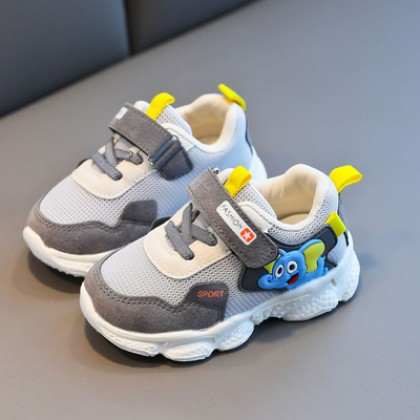 Kids Casual Coconut Breathable Flying Mesh Shoes