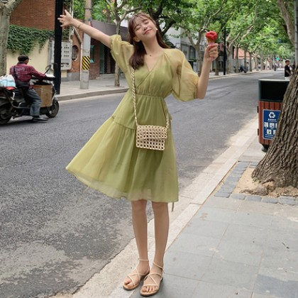 Maternity Clothing Casual Summer Chiffon Dress