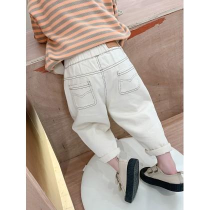 Kids Boy All-match Casual Denim Summer Pants
