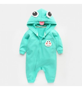 Baby Boy and Girl Frog Cosplay Cotton Jumpsuit Rompers Bodysuit