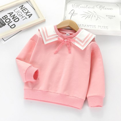 Kids Clothing Korean Version Long-sleeved Sweater