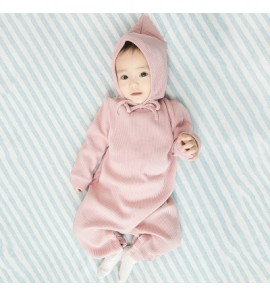 Baby Cute Hooded Hoodie with Hat Cotton Jumpsuit Rompers Bodysuit