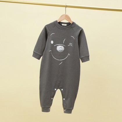 Kids Boys Long-sleeved Cartoon Print Sleeping Pajamas