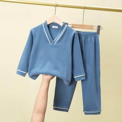 Kids Boys Soft Cotton Baby Home Service Suit