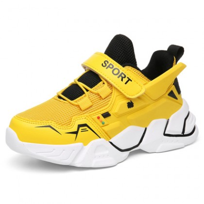 Kids Boys Foreign Style Breathable Sports Big Shoes