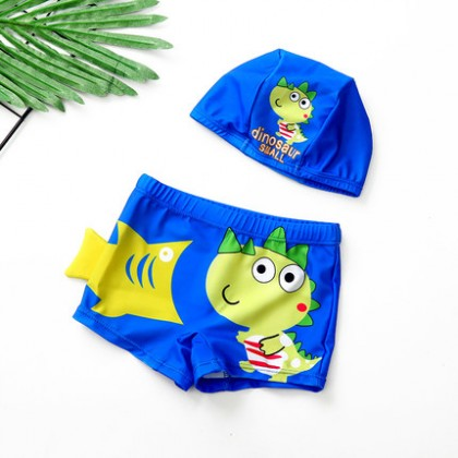 Kids Boys Angle Quick-drying Korean Style Swimsuit