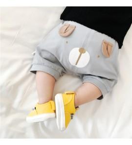 Baby Girl Boy Cotton Cute Bear Short Pants Trousers