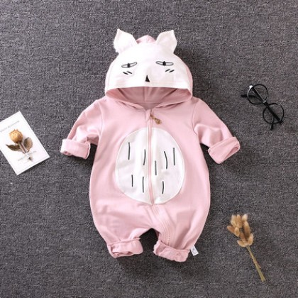 Baby Girl Boy Cute Animals Totoro Cosplay Long Sleeve Pajamas Sleepwear