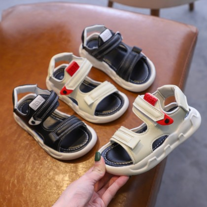 Kids boys non-slip soft sole casual baby beach sandals