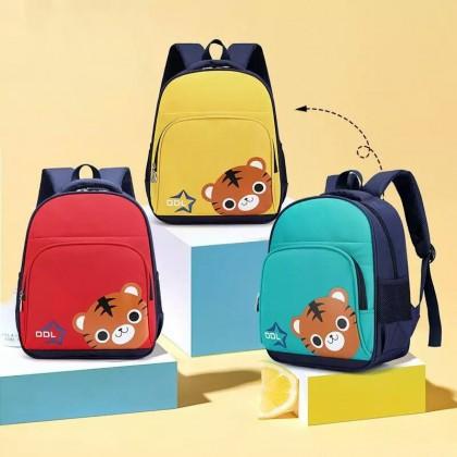 Kids Boys New School Bag Kindergarten Cat Print Small Backpack