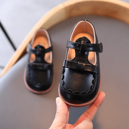 Kids Girls New Little Fashion Baby Princess Leather Shoes