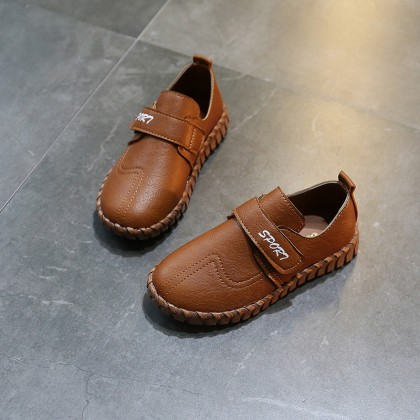 Kids Boys Fashion Breathable Casual Students Leather Shoes