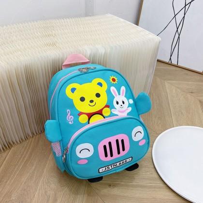 Kids Boys New Kindergarten Lightweight Cartoon Backpack