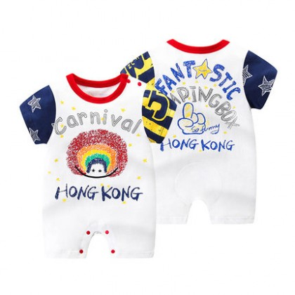Baby Clothing Summer Short-sleeved One-piece Super Cute Romper