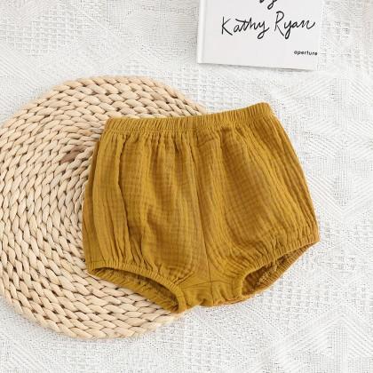 Baby Clothing Newborn Comfortable Cotton Bread Pants
