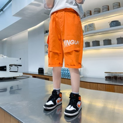 Kids Clothing Children Boys Short Pants Knee Length