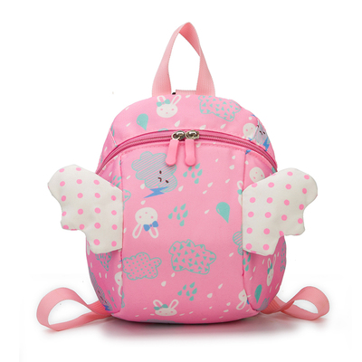 Kids Children Girl Casual Outing Cute Princess Wings School Backpack