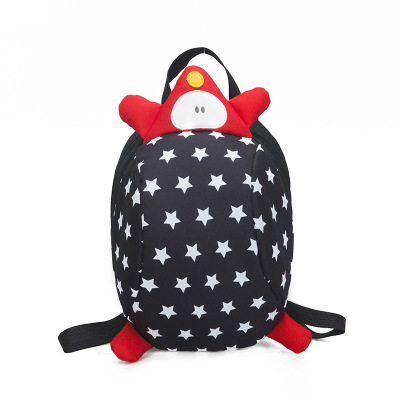 Kids Children Girl Casual Outing Cute Dots Animal Doll Student Backpack