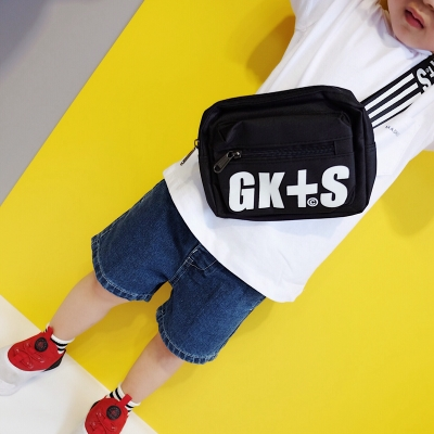 Kids Children Boy Casual Outing Cool Korean Style GKS Sling Bag Crossbody