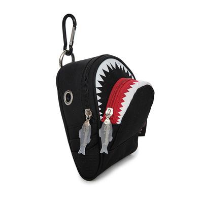 Kids Children Boy Casual Outing Cool Korean Style Shark Waist Sling Bag