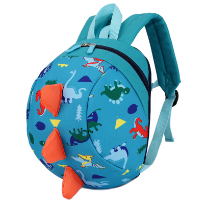 Kids Children Boy Casual Outing Cool Round Dinosaur Zoo Student Backpack