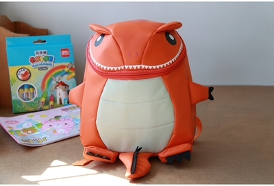 Kids Children Boy Casual Outing Cool Dinosaur Shape Students Backpack