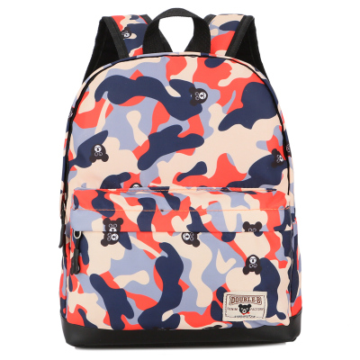 Kids Children Boy Casual Outing Cool Camouflage Students Backpack